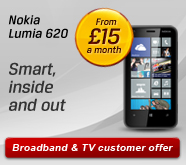 TV & Broadband Customer offer
